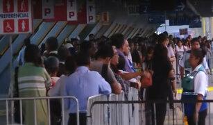 Estado de emergencia: esta es la situación en la estación Naranjal