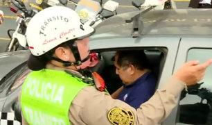 Vía Expresa: varios detenidos por no acatar estado de emergencia