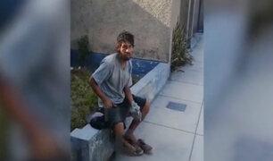 Surco: ladrón es sorprendido en flagrancia cuando intentaba ingresar a una vivienda