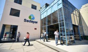 Sedapar y Seal no realizarán corte de servicios por falta de pago