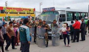 Así se vivió el primer día de estado de emergencia en el interior del país