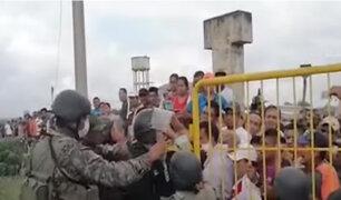 Tumbes: comerciantes y ciudadanos en desacuerdo con cierre de frontera