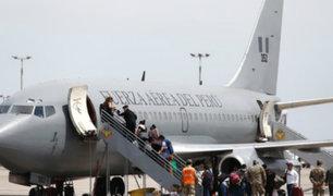 Aeropuerto Jorge Chávez: trasladan a Arequipa a más de 100 pasajeros varados