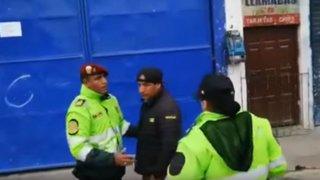 Cajamarca: detienen a tres ciudadanos por incumplir medida de emergencia