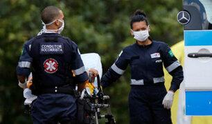 Brasil reporta su primera víctima mortal por coronavirus