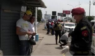 Callao: ciudadanos siguen sin cumplir con el aislamiento social
