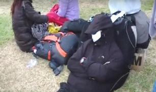 Estado de emergencia: así amanecieron decenas de pasajeros varados en el Jorge Chávez