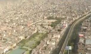 SJL: así se ve el distrito más grande de Lima desde el aire en pleno estado de emergencia