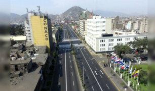 Estado de emergencia: así luce la avenida Abancay en el tercer día de aislamiento