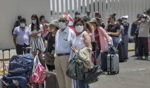 Habilitan avión con destino a Arequipa para pasajeros varados