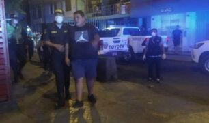 La Victoria: detienen a hombre por golpear salvajemente en el rostro a su expareja