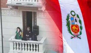Italia: peruanos cantan Himno Nacional en medio de cuarentena por coronavirus