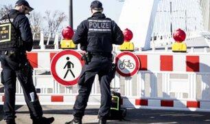 Alemania cierra sus fronteras con Francia, Austria, Suiza y Dinamarca por coronavirus