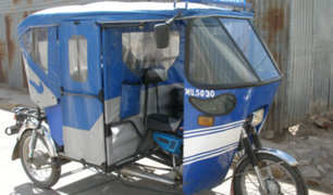 Pucallpa: mujer sospechosa de Covid-19 muere a bordo de mototaxi