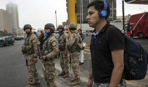 Urviola sobre inmovilización social: personas que incumplan medida podrán ser detenidas hasta por 15 días