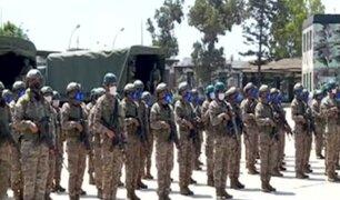 Ejército peruano apoya emergencia nacional