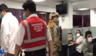 Estado de emergencia: Sunafil supervisa locales de call center
