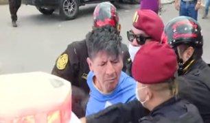 Callao: hombre se resiste a ser detenido