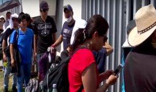 Pasajeros siguen varados en el Aeropuerto Jorge Chávez