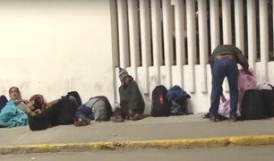 Toque de queda: cerca de 120 personas esperan varadas en el Jorge Chávez