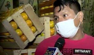 La Victoria: abastecimiento de alimentos se mantiene en Mercado de Frutas