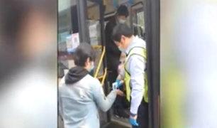 Covid-19 en China: por estrictas medidas restringen a personas con fiebre subir en buses