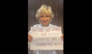 Ecuador: alcaldesa de Guayaquil confirma que padece covid-19 y pide a sus hijos no visitarla