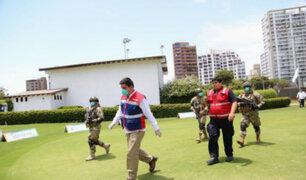 Club El Golf: Sunafil encontró a adultos mayores trabajando en plena cuarentena