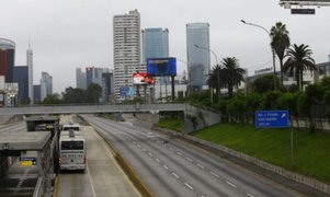Calidad de aire en Lima mejoró notablemente tras primeros días de cuarentena