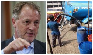 SJM: alcalde de Lima se comprometió a llevar agua a asentamientos humanos
