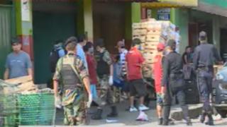 La Parada: comerciantes y clientes  ya utilizan mascarillas