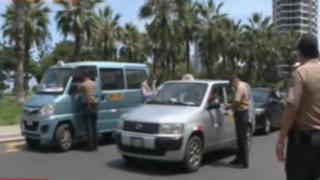 Estado de Emergencia: Operativos de control a peatones y choferes