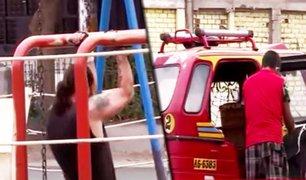San Juan de Lurigancho: personas no acatan medidas y continúan haciendo deporte en las calles