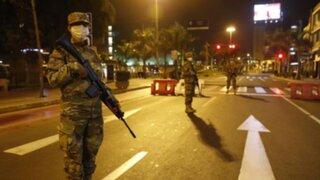 Más de 20 detenciones en Lima durante segunda noche de toque de queda