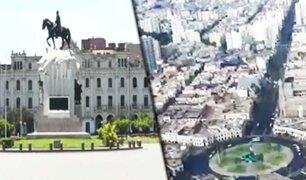 Lima sin gente y sin carros en tiempos del coronavirus