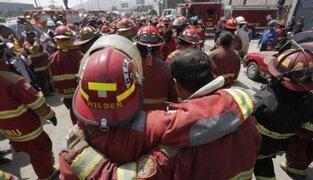 Bomberos piden ayuda a peruanos para prevenir emergencias durante cuarentena