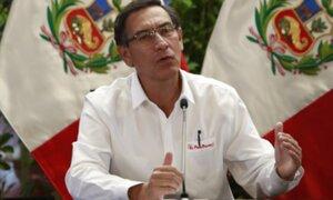 Vizcarra: Se emitieron y publicaron decretos sobre medidas contra el Covid-19
