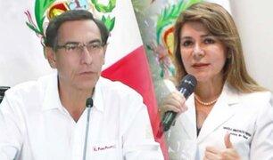Martín Vizcarra anuncia que reemplazará a la ministra de Salud