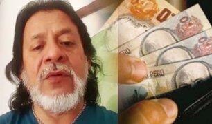César Gutiérrez analiza alternativas para la entrega del bono de 380 soles