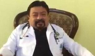 """Detienen a """"falso médico"""" que ofrecía vacuna contra el coronavirus"""