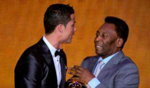 Pelé elige a Cristiano Ronaldo como el mejor futbolista contemporáneo