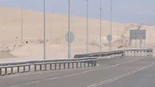 Tres extranjeros varados entre Perú y Chile
