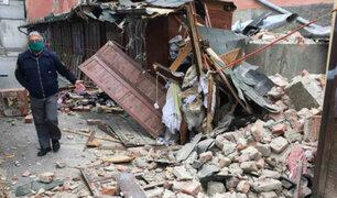 Sismo de 5.3 grados de magnitud remece la capital de Croacia
