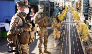 Chile declara el toque de queda por crisis del COVID-19