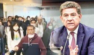 Canciller Meza-Cuadra: hemos repatriado a 3000 compatriotas