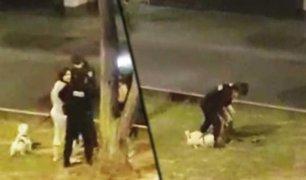 Miraflores: intervienen a mujer por sacar a su perro a pasear