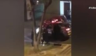 Miraflores: mujer es intervenida tras sacar a su mascota
