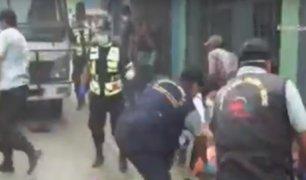 Ate: retiran a ambulantes por incumplir aislamiento