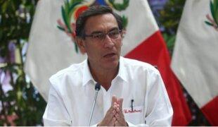 "Vizcarra felicitó iniciativa del Alcalde de Lima: ""esta es la solidaridad que queremos"""