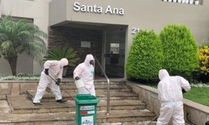 Miraflores: realizan desinfección en edificio donde falleció hombre con coronavirus